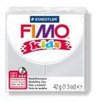 Gyurma, 42 g, égethető, Fimo Kids, világosszürke (FM803080)