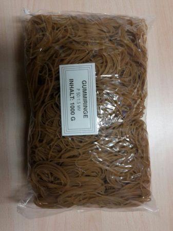 Gumigyűrű / postázó gumi 50 / 1,5mm natúr 1 kg/csomag (raktáron)