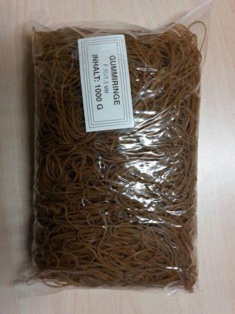 Gumigyűrű / postázó gumi 70 / 1,5mm natúr 1 kg/csomag (raktáron)