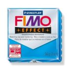 Gyurma, 56 g, égethető, Fimo Effect, áttetsző kék (FM8020374)