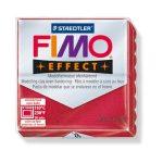 Gyurma, 56 g, égethető, Fimo Effect, metál rubin (FM802028)