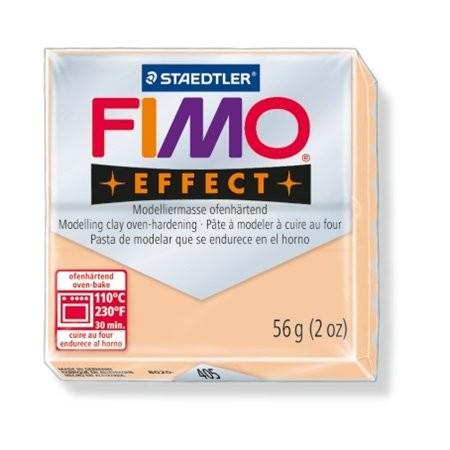 Gyurma, 56 g, égethető, Fimo Effect, pasztell őszibarack (FM8020405)