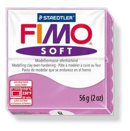 Gyurma, 56 g, égethető, Fimo Soft, levendula (FM802062)