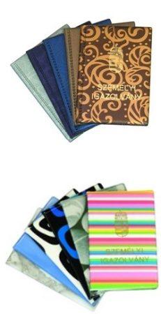 Okmánytartó / igazolvány tartó Személyi Igazolvány felirattal 4 lapos, vegyes színekben