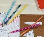 Ceruza, 2B, hatszögletű, STABILO Pencil 160, PINK TEST (160/01-2B)