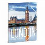 Ars Una Cities - London A/4 gumis dosszié