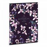 Ars Una Botanic Orchid A/4 extra kapcsos füzet-vonalas