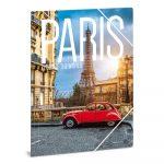 Ars Una Cities - Paris A/4 gumis dosszié