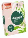 REY Adagio színes másolópapír, pasztell rózsaszín, A4, 80 g, 500 lap/csomag