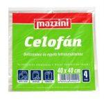 Mazzini befőzési celofán 40x40cm 4 íves
