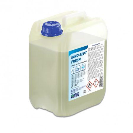 INNO-SEPT FRESH fertőtlenítő oldat, kézfertőtlenítő és felületfertőtlenítő 5L