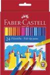 Filctoll készlet, Faber-Castell, 24 különböző szín/készlet