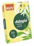 REY Adagio színes másolópapír, neon banán, A4, 80 g, 500 lap/csomag (code 15)