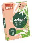 REY Adagio színes másolópapír, intenzív barack, A4, 80 g, 500 lap/csomag (code 55)