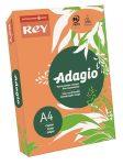 REY Adagio színes másolópapír, neon mandarin, A4, 80 g, 500 lap/csomag (code 12)