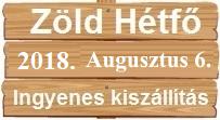 ZÖLD HÉTFŐ - INGYENES SZÁLLÍTÁS!