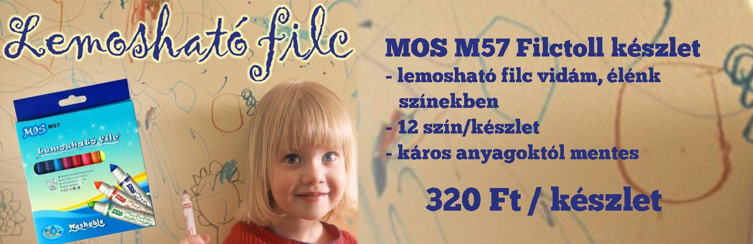 MOS M57 Mosható Filc